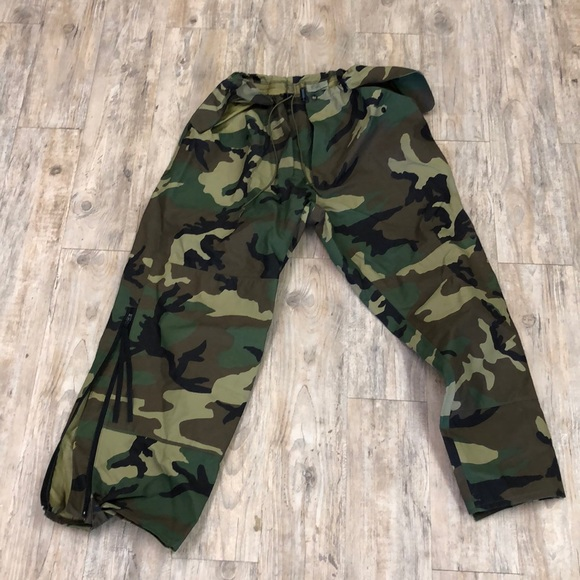 Unisex trousers, cold weather camouflage pants